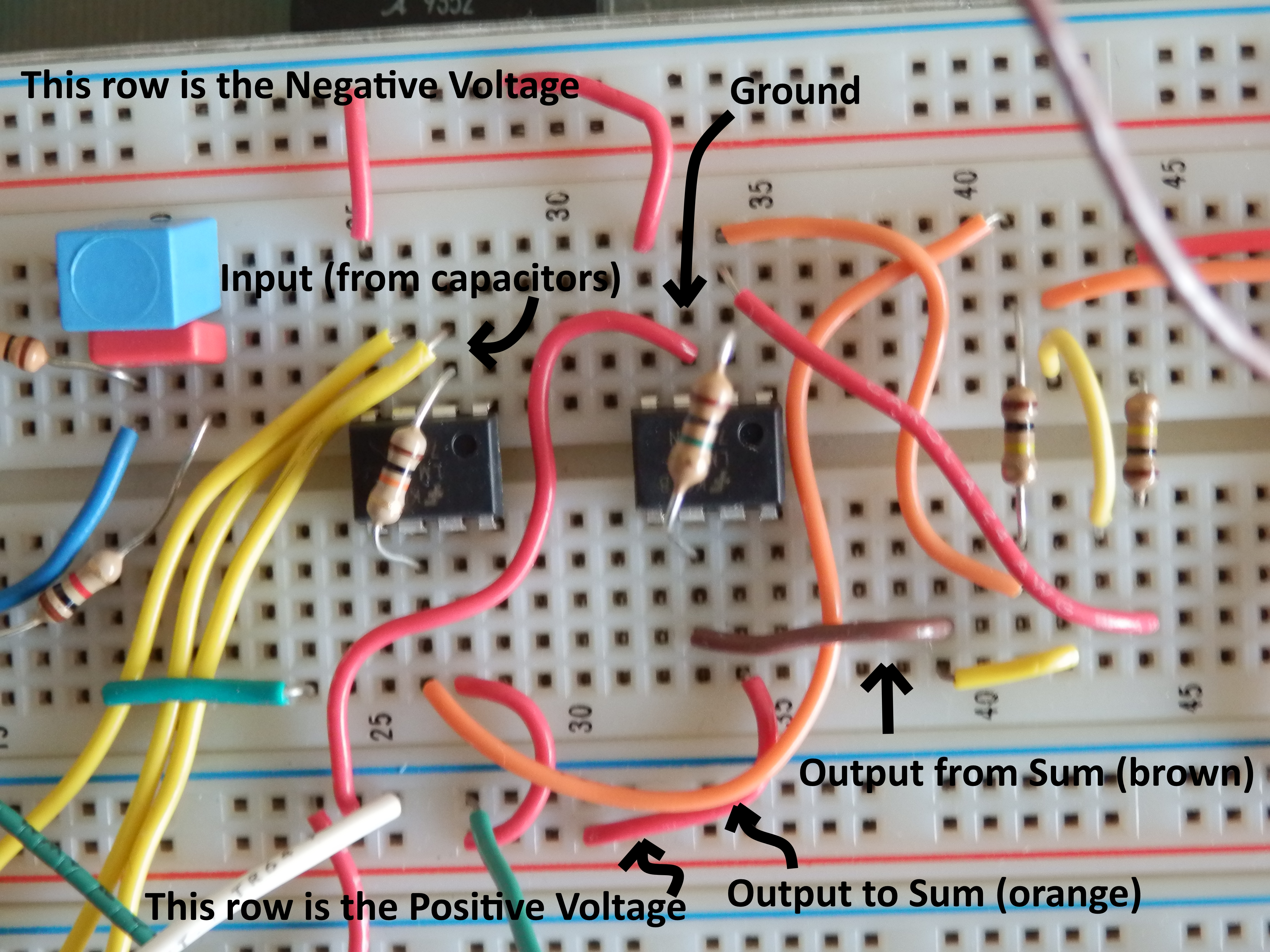 Phys 420c Sound And Acoustics Com Images Invertingopampcircuitbreadboardschematicpng The Delay On Left Sum Right